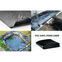 Geomembrane impermeable membrane reservoir waterproofing membrane aquaculture ponds dedicated film black 4x3m