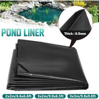 Thickness 0.5mm Pond Liner Special Offer Fish Pool Pond Liner Membrane 2x2m