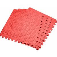 4Pcs 60x60CM Foam Floor Mat Jigsaw Shockproof & Waterproof Tiles Interlocking Floor Mat