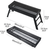 BBQ Grill Folding Portable Charcoal Stove