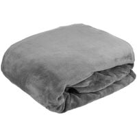 Washable Stretch Recliner Chair Covers Velvet Plush Fabric Couch Cover grey
