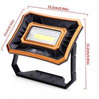 COB 50 W Outdoor Work Light Camping Lamp Waterproof IP65 2 Mode Mohoo