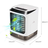 3-IN-1 USB Powered Portable Air Cooler Humidifier Fan