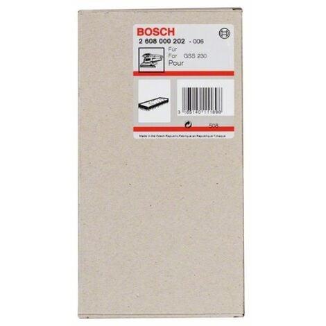 Placa Lijadora Velcro Gss 230: Orbital - Bosch