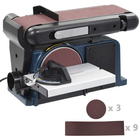 Ponceuse /à bande 375 W 150 mm