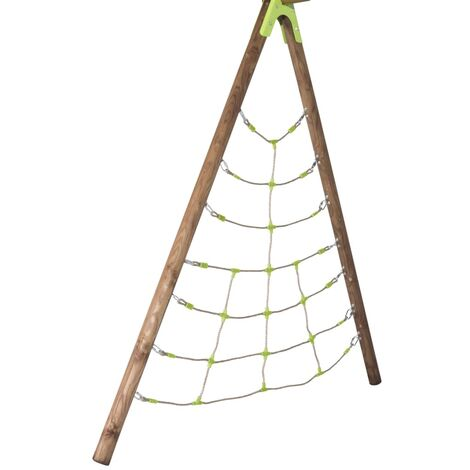 TRIGANO Kit d'escalade Spider pour balançoire en bois 2,3 m J-900550