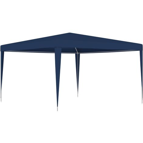 Tente de réception 4x4 m Bleu