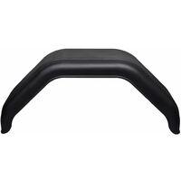 Garde-boue 2 pcs pour roues de remorque 220 x 760 mm