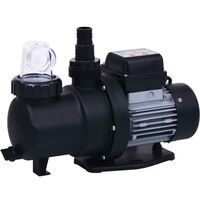 Pompe de filtration à sable avec minuterie 550 W 50 L