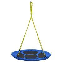 Balançoire 110 cm 100 kg Bleu
