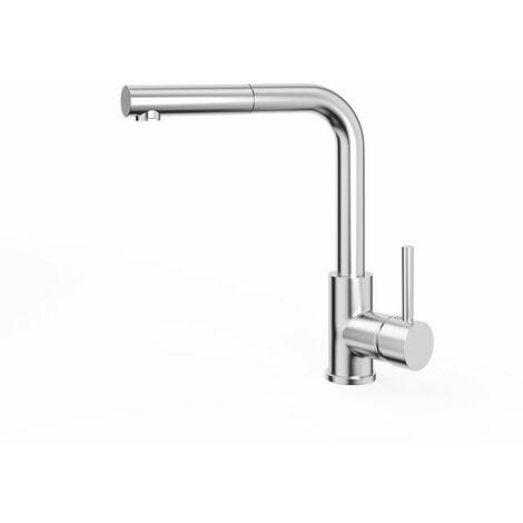 Bergström Armatur Küchenarmatur Spülearmatur Wasserhahn Mischbatterie Chrome