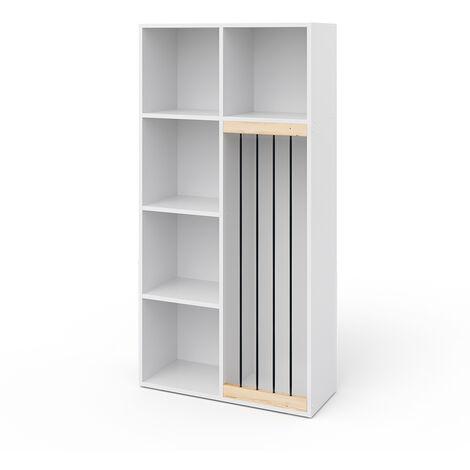 Vicco Kinderregal Marvin Plüschtier-Box Aufbewahrung Bücherregal Standregal Holz