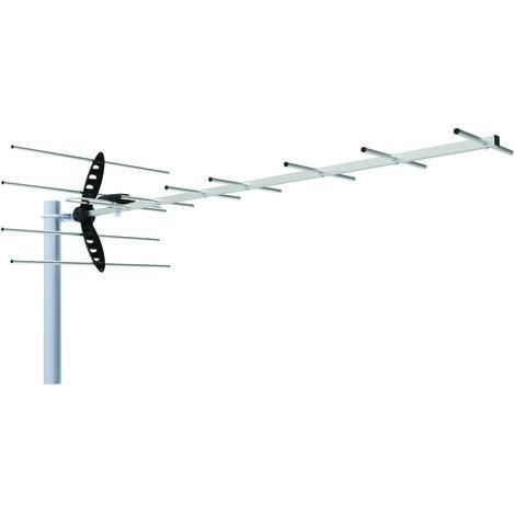 Antenne TV extérieure TNT HD YAGI SY8 15 dB - SEDEA - 018510