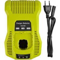 3A 12V-18V Chargeur de Batterie de Rechange pour Ryobi ONE + 12V-18V BCL1418 260051002 P113 P117 P118 Batterie Rechargeable