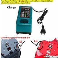 NI-CD & NI-MH Chargeur de batterie pour Makita Chargeur DC18RA, DC18SE, DC1414 Batterie 7.2V-18V Remplacement Outil Électrique Chargeur de Batterie LaiPuDuo