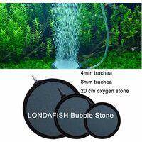 LITZEE Pierre à bulles d'air ultra silencieuse pour aquarium