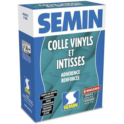 Colle en poudre pour papiers peints vinyls et intissés Semin - boite de 300 g