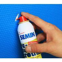 Enduit de rebouchage allégé en spray aérosol pour reboucher jusqu'à 30 Trous Re-Bouch-Trou Semin - intérieur - spay de 125 ml