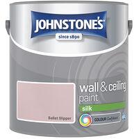 Johnstone's Retail Wall & Ceiling Paint Silk Ballet Slipper 2.5