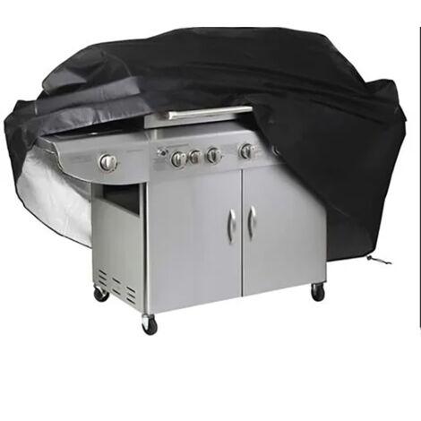 betterlife Couvercle de grill à la cuve d'extérieur de mobilier à la poussière Barbecue Couverture Grill Couvre-écran Regensproof Cache solaire 100x60x150cm