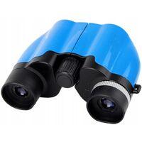Betterlife Jumelles Télescope pour enfants Télescope d'aventure en plein air pour enfants, 8 x 22 bleu