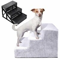 Betterlife Chats et chiens Échelle d'escalade Escaliers Plateformes de saut pour animaux de compagnie Escaliers pour animaux de compagnie