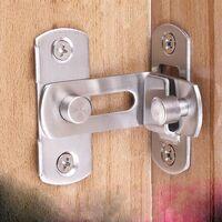 Le verrou de la porte 90 Verrouiller la porte Verrouillage de la porte à angle droit en bas(L)