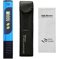 Testeur pH Mètre électronique, TDS&EC Mètre Température, 4 en 1 Testeur de qualité de l'eau avec Écran LCD, Auto-Calibration, Test pour Piscine, Aquarium, Laboratoire,etc
