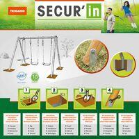 TRIGANO Kit d'ancrage pour balançoire Secur'in J-9005908549-A