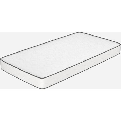 Materasso singolo altezza 10 cm - in WaterFoam, pieghevole  80x190. Modello: Primavera H10.