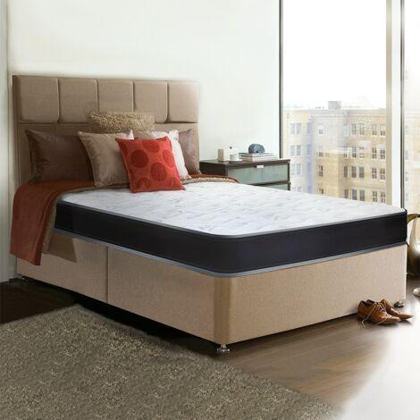 Materasso in WaterFoam matrimoniale - alto 22 cm, anallergico, antiacaro  160x190. Modello: Summit H22.