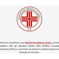 Materasso Singolo 80x190, Altezza 12 cm - Waterfoam, Pieghevole | Smart H12