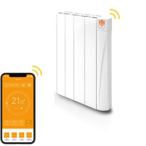Radiador HANA Conectado Eléctrico Digital de Bajo Consumo HANW0500 - 500W 4 ELEMENTOS