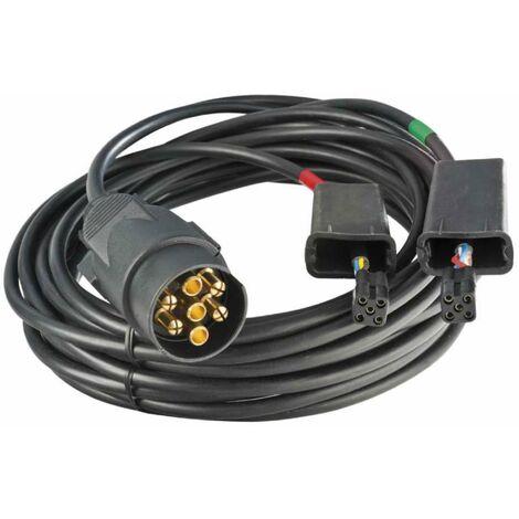 Câble électrique remorque 4 mètres