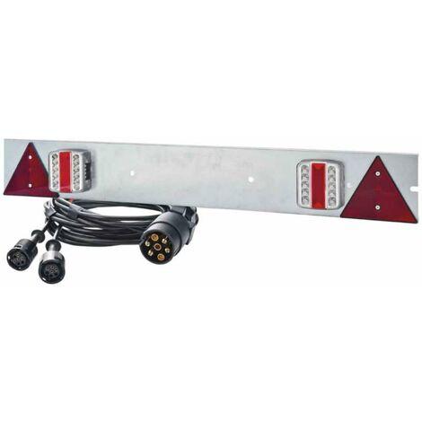 Rampe signalisation à led galvanisé 1m