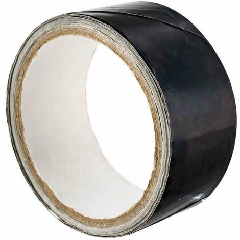 Ruban adhésif alu noir haute température