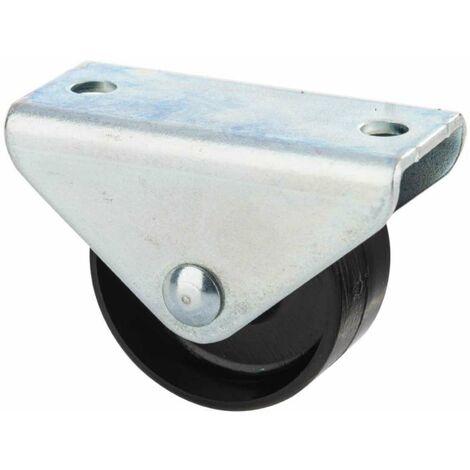 Roulette avec platine à visser 45x15mm