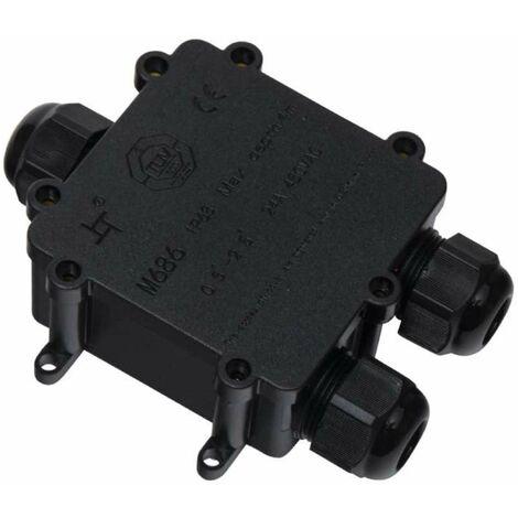 Boitier de connexion étanche avec bornier 3 E/S