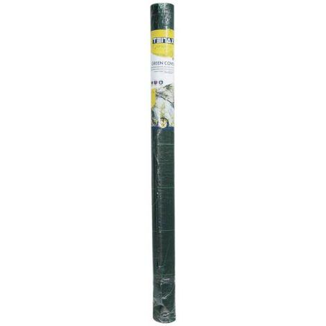 Toile tissée 2x5m verte 105 g/m2 - Vert