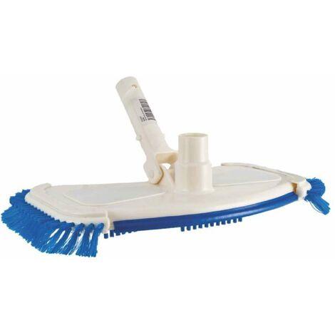 Balai à brosse sans roulettes - Blanc