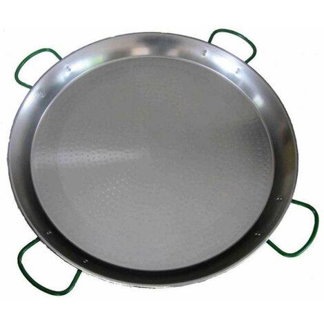 Plat à paella en métal avec 4 poignées ø 80cm