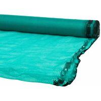 Filet d'échafaudage vert 3x20m