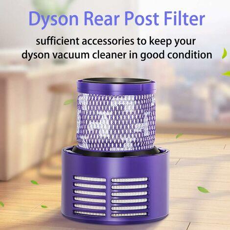kueatily Filtre Lavable pour Aspirateur avec Une Brosse de Nettoyage, Filtre de Rechange Dyson pour Série V10 SV12