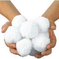 kueatily Boules de Filtre de Piscine, Balles Filtrantes,Média Filtre à Fibres pour Piscine Filtres à Sable Filtrage de l'eau. (Blanc)