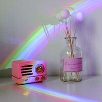 kueatily Projecteur Rechargeable, Lampe Colorée à LED Romantique pour Femme, Fille, Saint-Valentin, Fête des Enfants, Anniversaire de Mariage