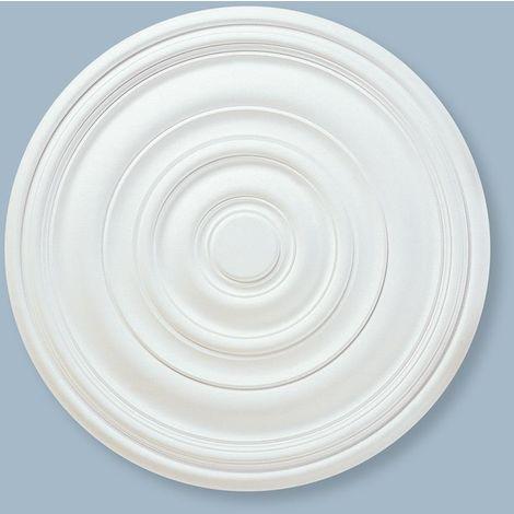 Ceiling Rose Alanna 740mm Resin Strong Lightweight Not Polystyrene Easy Fix 74cm