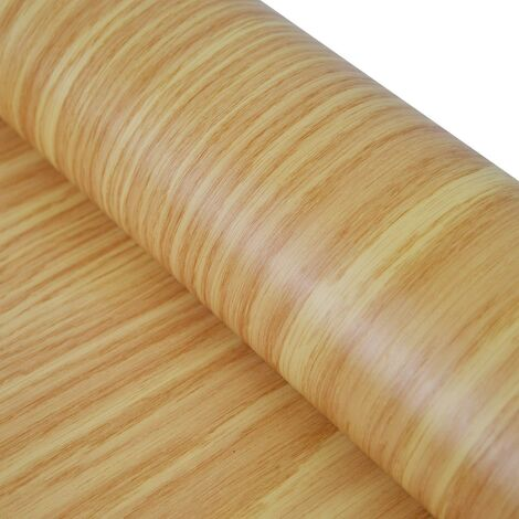 Fablon Oak Wood Effect Rustic Medium Stationary Crafts Self Adhesive Film Vinyl