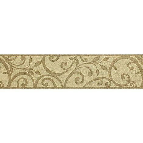 Swirl Wallpaper Border Holden Decor Mocha Beige Cream Textured