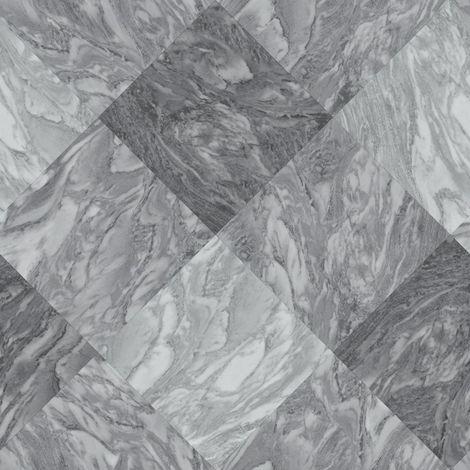 Rasch Marble Tile Effect Wallpaper Slate Grey Diamond Modern Textured Vinyl