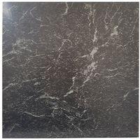 Floor Tiles Self Adhesive Vinyl Flooring Kitchen Bathroom Black Marble Effect